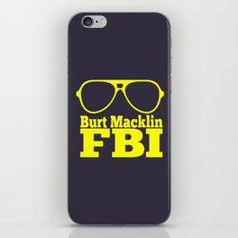 Burt Macklin FBI iPhone Skin