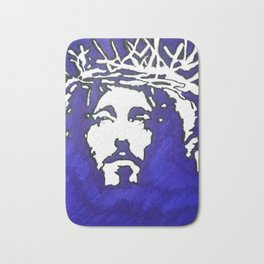 4b-Jesus-Ink Bath Mat