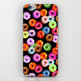 Multicolored Yummy Donuts iPhone Skin