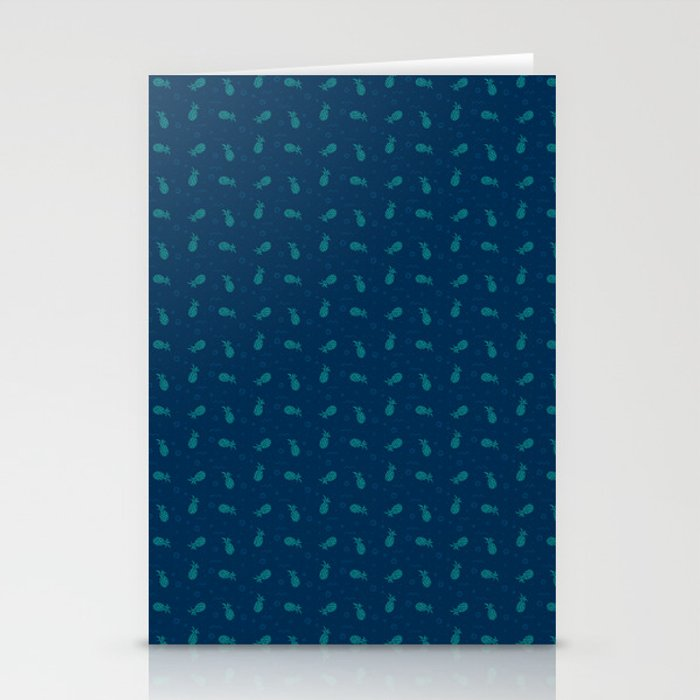 Tropical Blues Stationery Cards
