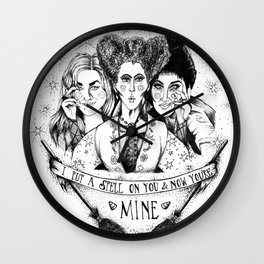 Hocus Pocus - The Sanderson Sisters Wall Clock