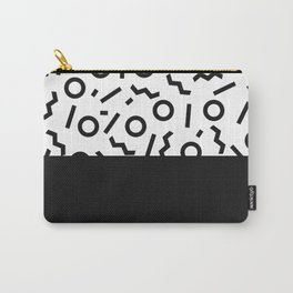 Memphis pattern 42 Carry-All Pouch