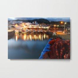 Colorful harbour Metal Print