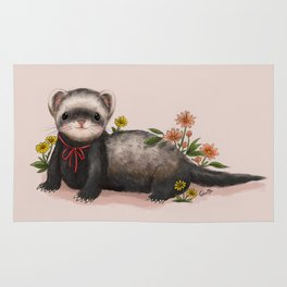 Little Ferret Rug