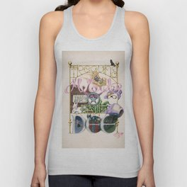 The SILVER SCREEN SPELLS - take 1 of 3 Unisex Tank Top