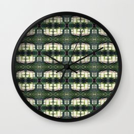 Pattern 56 - Windows and wall vines Wall Clock