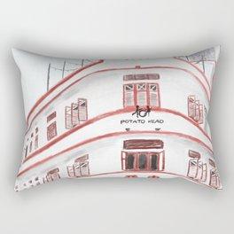 36 Keong Saik Road, Chinatown, Singapore Rectangular Pillow