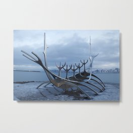 Solfar, the Sun Voyager Metal Print