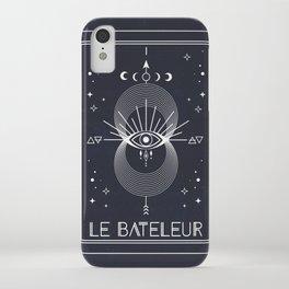 The Magician or Le Bateleur Tarot iPhone Case