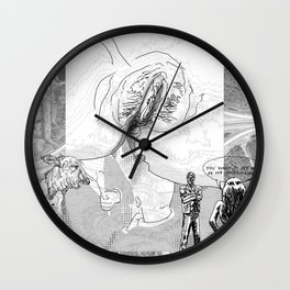 The constellation erotique 4494 Wall Clock