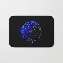 Cellular Firework Bath Mat