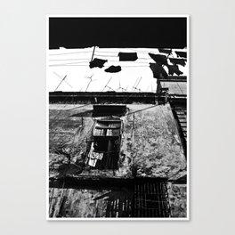 espacios divididos Canvas Print