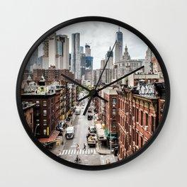 New york City USA Wall Clock