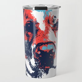 Patriotic Labrador  Travel Mug