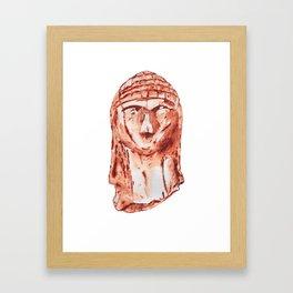 Venus of Brassempouy Framed Art Print