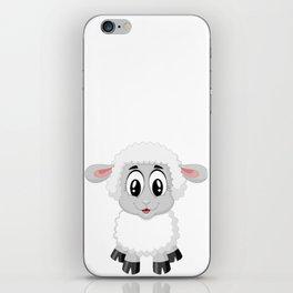 Cute Lamb Sheep iPhone Skin