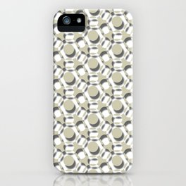 Modern Times 2.0 Pattern - Design No. 6 iPhone Case