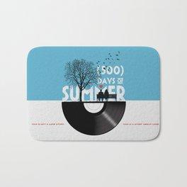 500 days of summer art Bath Mat