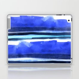 Wave Stripes Abstract Seascape Laptop & iPad Skin