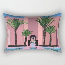 Abu Dhabi dip Rectangular Pillow