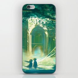 The Forest of Light iPhone Skin