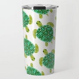 Sea Turtle – Green Palette Travel Mug