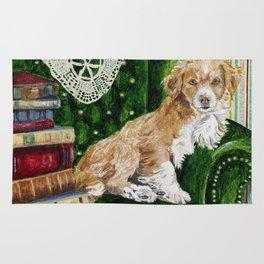 Sir Beckett, Dog With An Education Rug