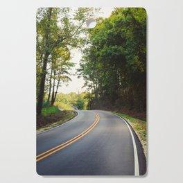 Curvy road Cutting Board