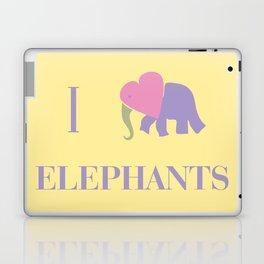 I Heart Elephants Laptop & iPad Skin