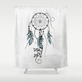 Poetic Key of Dreams Shower Curtain