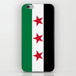 Syrian Independence Flag  High quality iPhone Skin
