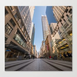 George Street, Sydney Canvas Print
