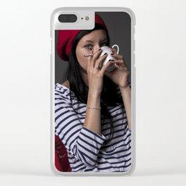 sguardi Clear iPhone Case