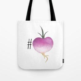 #Turnip Tote Bag