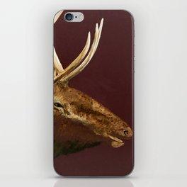 Big Bull Elk Profile iPhone Skin