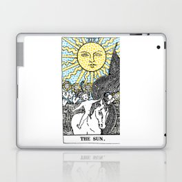 Modern Tarot Design - 19 The Sun Laptop & iPad Skin