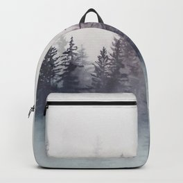 Winter Wonderland - Stormy weather Backpack