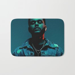The Weeknd Portrait Bath Mat