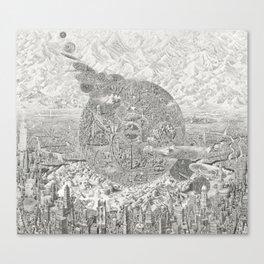 Chronoglyph Canvas Print