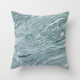 Granite Layers Throw Pillow
