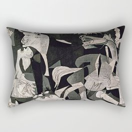GUERNICA #1 - PABLO PICASSO Rectangular Pillow