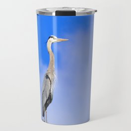 Wild and Blue Travel Mug