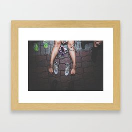 you know me Framed Art Print