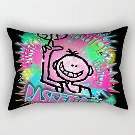 Basket Boy Graffity 1 Rectangular Pillow