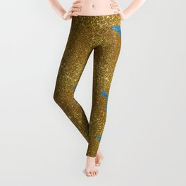 Michigan glitter Leggings
