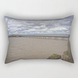 Birnbeck Pier. Rectangular Pillow