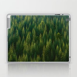 The Green Forest (Color) Laptop & iPad Skin