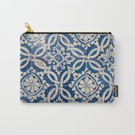 Vintage portuguese azulejo Carry-All Pouch