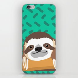 Brad Sloth iPhone Skin
