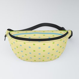 Yellow, With Dots Fanny Pack